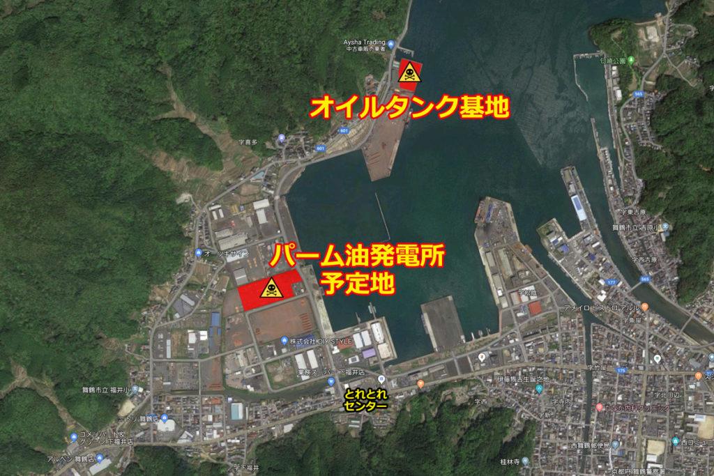 Planned site: Kita area in West Maizuru