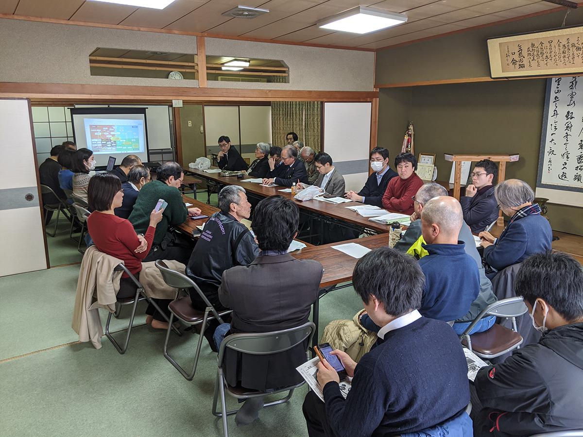 自由法曹団 京都府支部の弁護士18名が舞鶴のパーム油火力発電所問題の調査に来ていただきました。