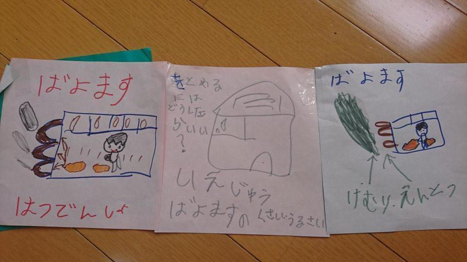 福知山のパーム油発電の絵